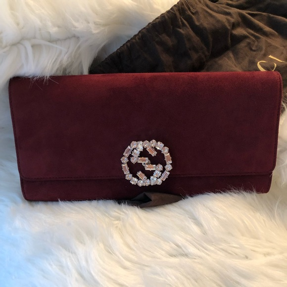 c3dd26071dca Gucci Bags | Broadway Gg Crystal Clutch | Poshmark